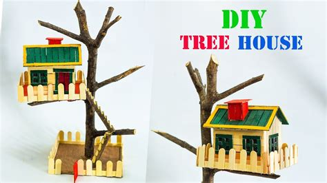 how to make a house a home diy tree house model youtube