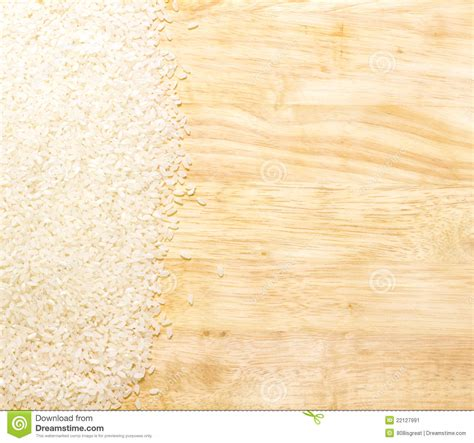 Rice Mba Board by White Rice On Cutting Board Stock Image Image 22127991