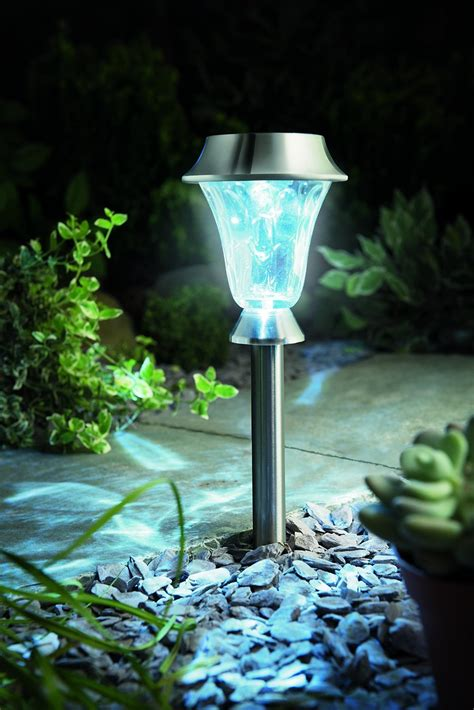 Cole Bright Solar Post Lights Led Pathway Garden Ls Bright Solar Path Lights
