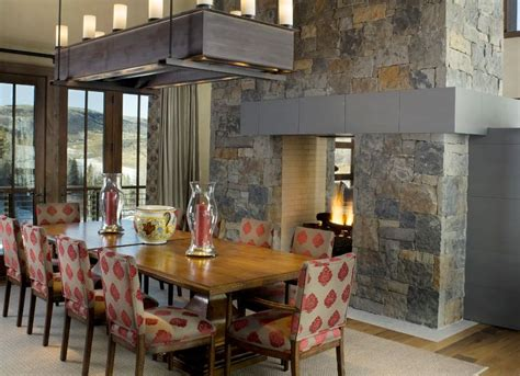 Dining Room Ideas With Fireplace 20 Gorgeous Two Sided Fireplaces For Your Spacious Homes