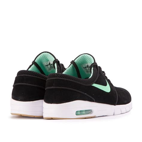 Nike S Janosky nike stefan janoski max l black green 685299 039