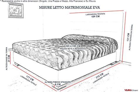 dimensione letto dimensione letto una piazza e mezza
