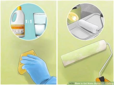 How To Remove Water Stains From Ceiling Best Accessories How To Remove Water Stains From Ceiling Without Painting