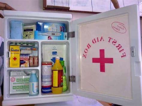 Obat Obatan P3k isi kotak p3k di sekolah ahli k3 umum