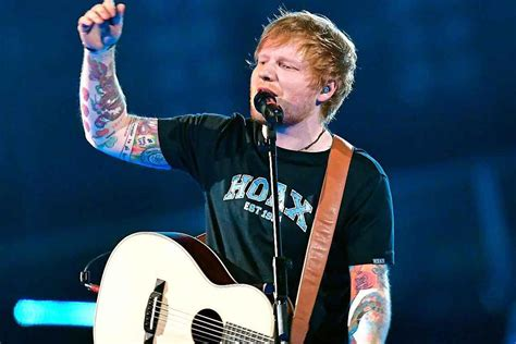 ed sheeran tour ed sheeran tour review only the music ever mattered