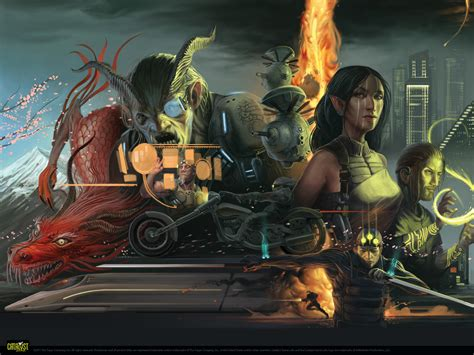 shadowrun wallpaper  wallpoper