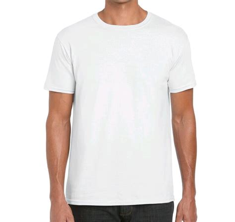 Kaos Polos Putih Gildan Softstyle jual gildan kaos polos softstyle putih zorido di