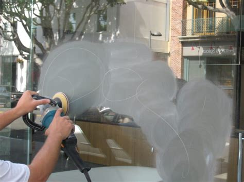How To Get Scratches Out Of Glass Table by Glass Scratch Removal Arizona Glass Door Connection