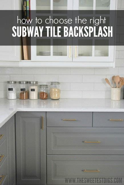 how to choose hardware how to choose the perfect subway tile backsplash for your