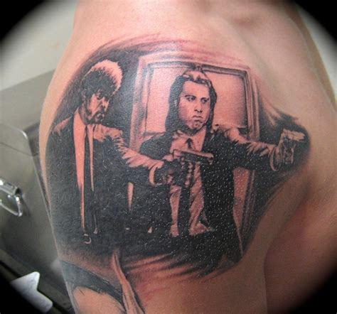 pulp fiction tattoo cogswell gallery and
