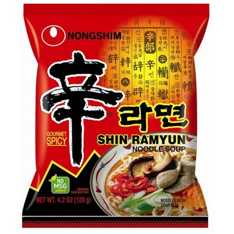 Nongshim Shinramyun Cup Noodle Soup i just put cheese in my ramen noodles casualconversation