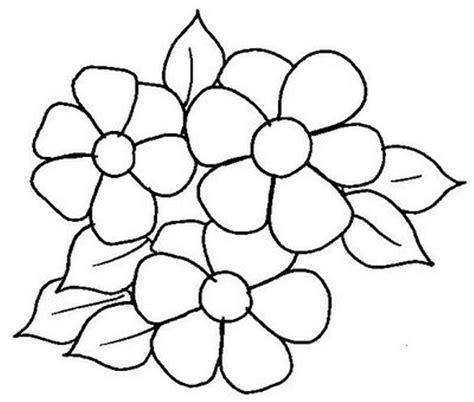imagenes para dibujar faciles de flores imagenes de flores para colorear y dibujar