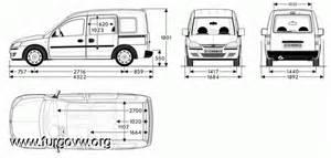 Vauxhall Combo Interior Dimensions Galeria De Fotos De Furgonetas Cer Cervan Picture