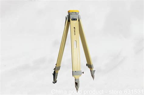 Tripod Total Station topcon original t series high quality wooden tripod for