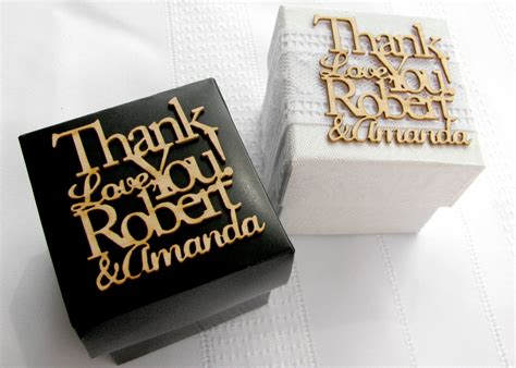 Personalized Wedding Favors by Laser Cut Wedding Favor Boxes Personalized Wedding