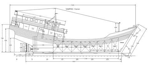 desain gambar kapal woodenboatfishingvesselorcargo