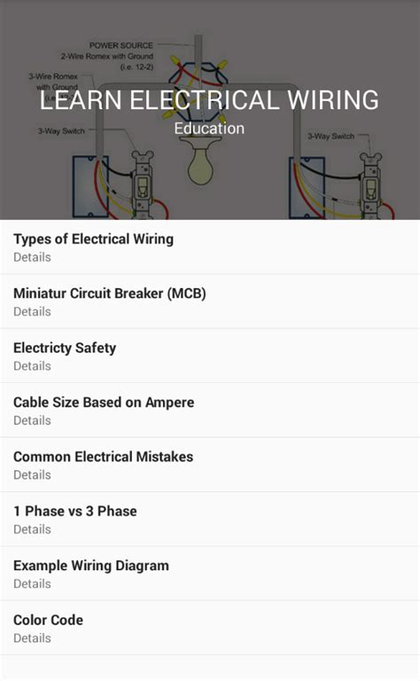 learn electrical wiring android apps on play