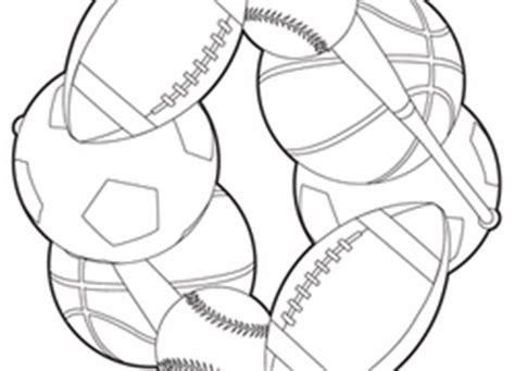 sports coloring pages for kindergarten sports coloring pages printables education com
