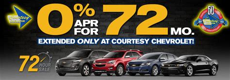 courtesy chevrolet is a chevrolet dealer and a new