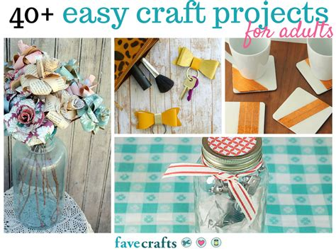 Simple Paper Craft Ideas For Adults - 44 easy craft projects for adults favecrafts