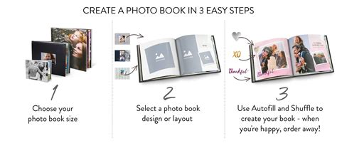 how to create a picture book photo books create your personalised photo album