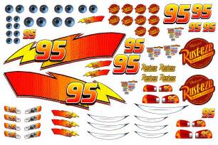 Lightning Mcqueen Car Stickers Lightning Mcqueen Decals