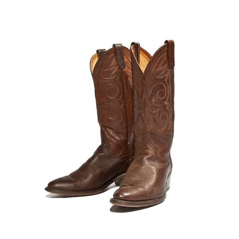 County Boots Brown s brown cowboy boots by acme country western