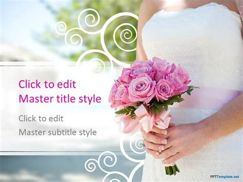 Free Wedding Ppt Template Free Wedding Powerpoint Templates