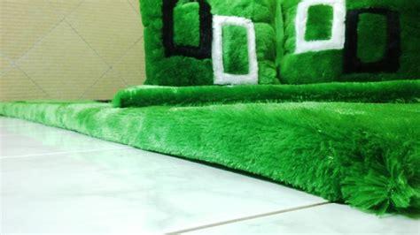 Surpet Set Bantal 2 Guling 1 jual karpet bulu green square minimalis silvya grosir