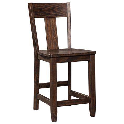 Solid Pine Bar Stools signature design by trudell solid wood pine counter