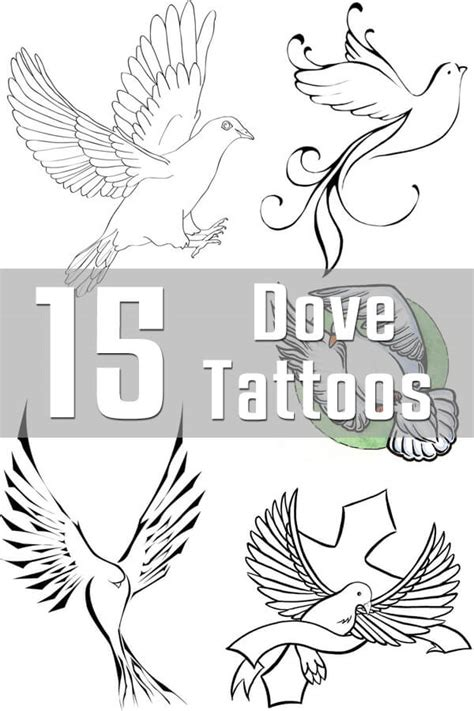 dove tattoo designs the body is a canvas