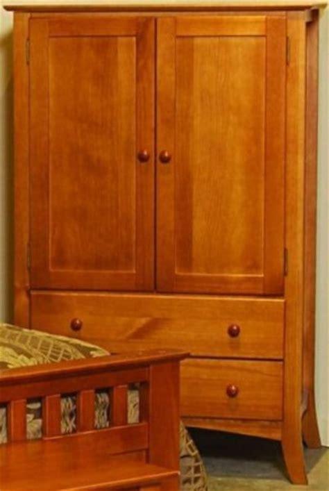 wardrobe bedroom armoire cherry finish linon 6015n43 b kd u emily bedroom armoire brazilian pine