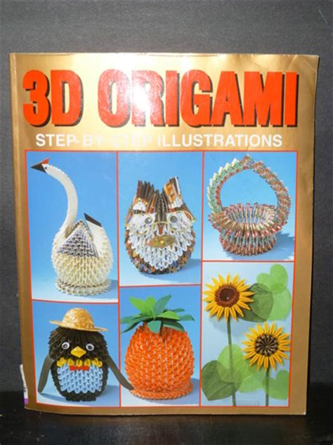 3d Origami Step By Step Illustrations - how to make a origami 3d swan basket car interior design