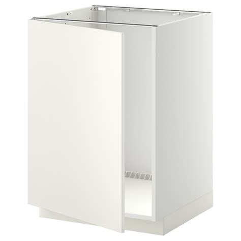 ikea kitchen cabinet construction metod base cabinet for sink white veddinge white 60x60 cm