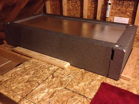 Attic Door Insulation Cover Lowes by Attic Hatch Cover Pictures To Pin On Pinsdaddy