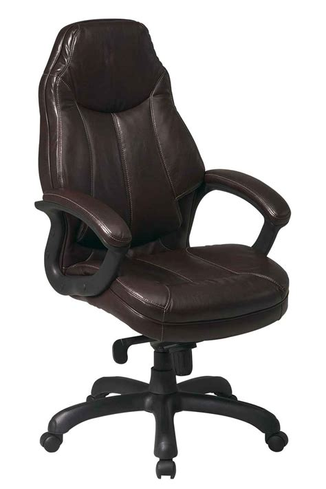 dark brown leather desk chair dark brown leather office chair in canada arm chair