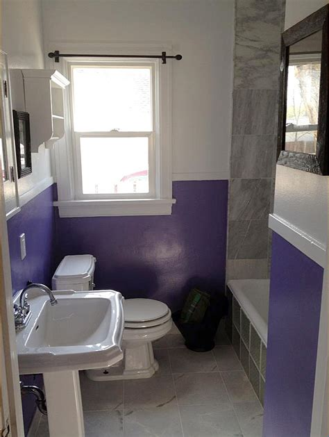 inexpensive bathroom updates guest project a barney budget bathroom update oh jen