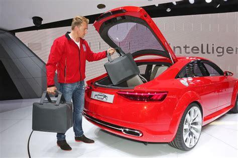 Audi Tt Kofferraum Ma E by Audi Tt Sportback 2014 Sitzprobe Autobild De