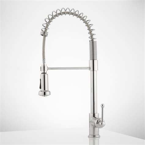 spring pull down kitchen faucet rachel pull down kitchen faucet with spring spout