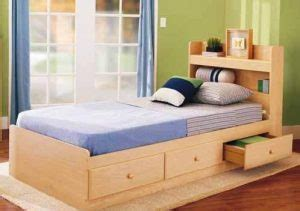 inspirasi tempat tidur minimalis nyaman  menawan