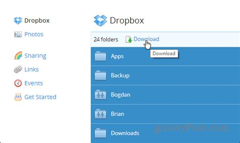 dropbox pc dropbox download files to pc