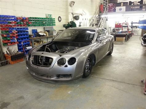 bentley drag car bangshift webster race engineering