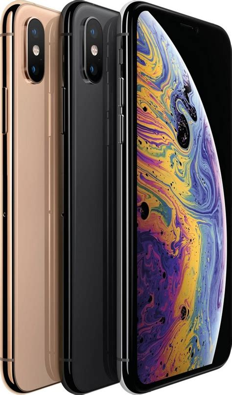 apple iphone xs 5 8 quot 64 gb smartphone 14 7 cm 5 8 zoll 64 gb speicherplatz 12 mp kamera