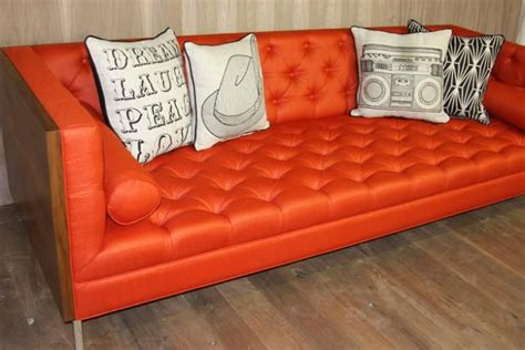 snick orange couch 17 best images about tangerine tango orange wedding on