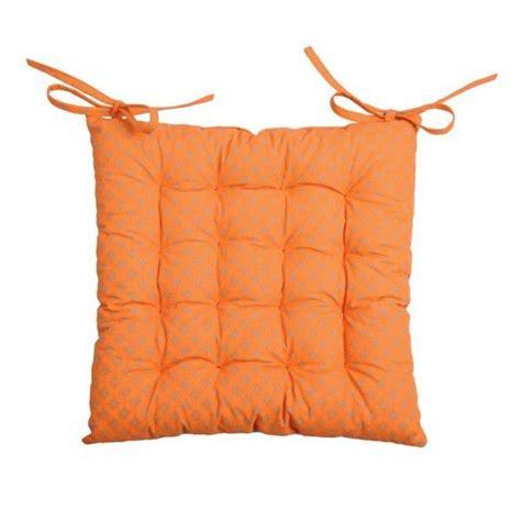 Coussin De Chaise Orange by Coussin De Chaise Charles Orange Galette Et Coussin De