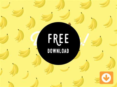 banana vector pattern free download