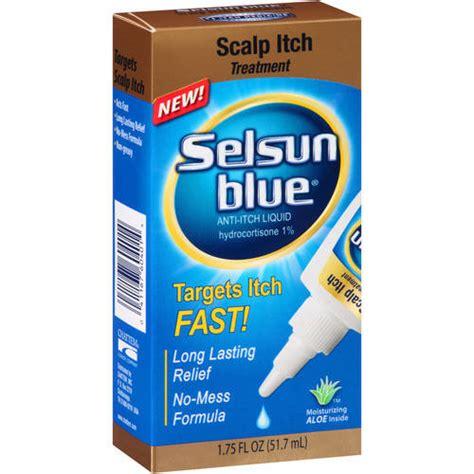 selsun blue scalp itch treatment anti itch liquid 1 75 fl