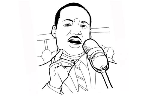 martin luther king coloring pages martin luther king coloring pages free printable
