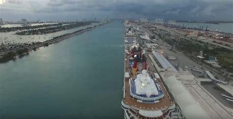 cruise ships depart port miami live
