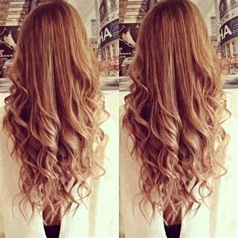 long loose curls hair pinterest